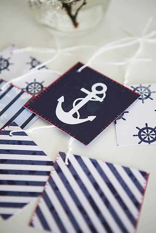 Námornícke visačky na darčeky