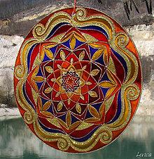 Dekorácie - Mandala Otvorenosti - 6608685_