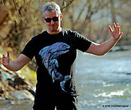 Topy, tričká, tielka - Pánske tričko maľované DÚHAČIK - 6608335_