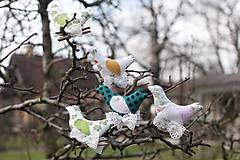 Dekorácie - Vtáčiky - 6610812_