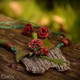 Elena a ruže - sada šperkov