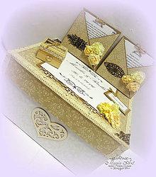 Papiernictvo - Svadobná kolekcia: Svadba na horách - 6608295_