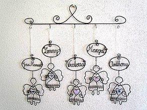Dekorácie - celá rodina spolu - 6608416_