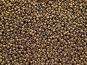 Korálky - Toho Round TR-11-221 Bronze 11/0, bal.10g - 6609282_