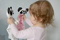 Hračky - mojkáčik Panda - 6609515_