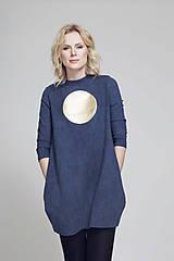 Šaty - FNDLK úpletové šaty 57 BVqL_blue - 6614744_