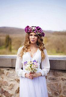 Kytice pre nevestu - Svadobná kytica - 6612223_