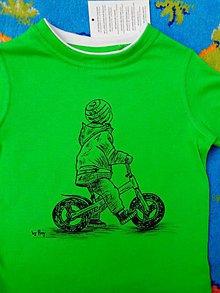 Detské oblečenie - maľované tričko - 6612434_