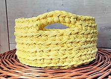 - žltý košíček s uškami - 6614983_