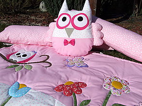 Textil - Ružová súprava pre dievčatko - 6611785_