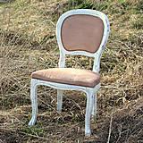 Nábytok - Vintage stolička spod hôr - 6611603_