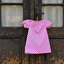 Detské oblečenie - Detské šatočky veľkosť cca 74-80 - 6614573_