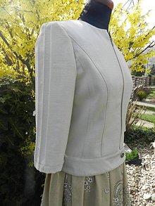 Kabáty - beige kabátik - 6618222_