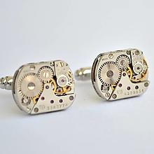 Šperky - Strojkové manžetové knoflíčky - 6615440_