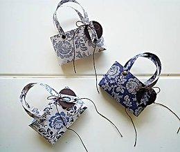 Papiernictvo - Mini FOLK taštičky - 6615674_