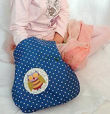 Detské tašky - Taška pre deti - Sovičková v zelenom - naopak - 6615132_