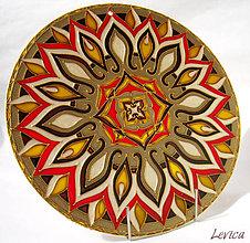 Dekorácie - Mandala..Esencia Diaľav - 6617442_