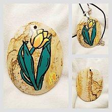 Náhrdelníky - Tulipán - 6618002_
