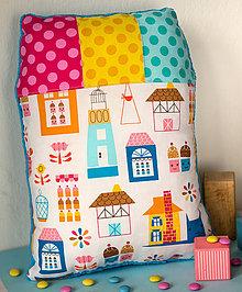 Textil - Dollhouse - vankúš - 6618320_