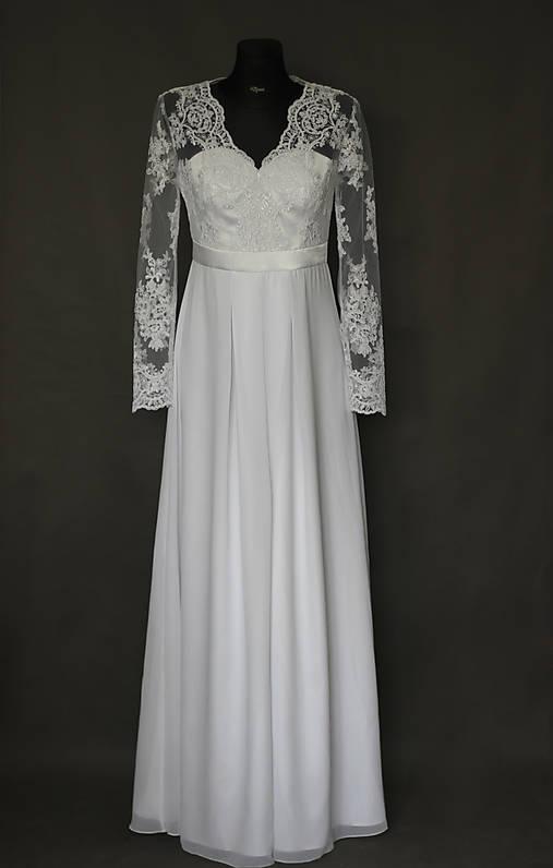 Svadobné šaty pre tehotné nevesty