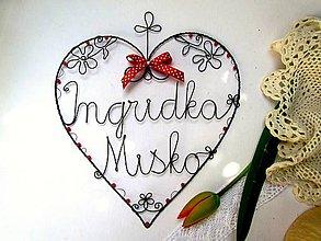 Dekorácie - MAXI svadobné * 24 cm - 6616155_