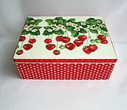 - Krabica jahôdková - 6620015_