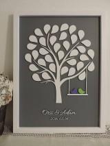 Svadobný strom 55 listov