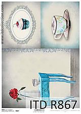 Papier - Ryžový  papier R867 - 6620788_