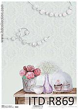 Papier - Ryžový  papier R869 - 6620800_