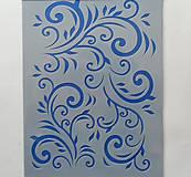 Pomôcky/Nástroje - Šablóna - 15x20 cm - ornamenty, filigrány - 6619056_