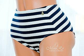 Bielizeň/Plavky - Dámske nohavičky klasické extra vysoký  pás - 6618836_