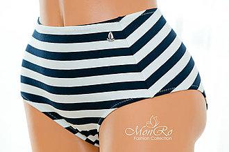 Bielizeň/Plavky - Dámske nohavičky klasické extra vysoký pás - 6618843_