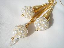 Sada-bielo zlatá