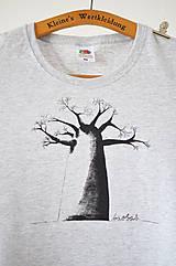 - Dámske tričko Baobab, šedé, L - 6619880_
