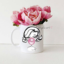 Nádoby - Marilyn BUBBLE Lolli mug - 6620667_
