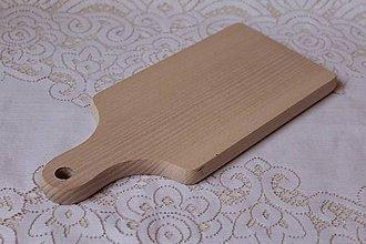 Polotovary - masívny drevený lopárik - 6621360_