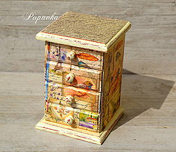 Krabičky - Komodka - 6621524_