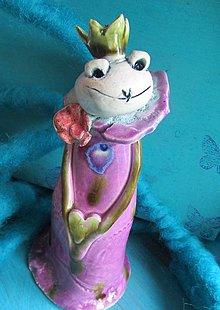 Dekorácie - žaba figúrka - mám ťa ráda - 6620325_