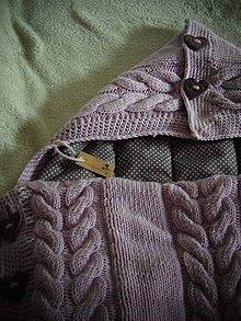 Textil - Detský merino fusačik 3v1 - 6621852_
