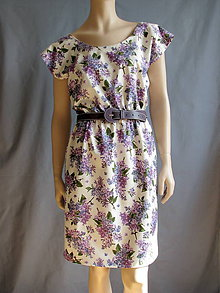 Šaty - Orgovánové šaty - 6620281_