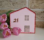 Dekorácie - Dom z Tulipánovej ulice - 6618581_