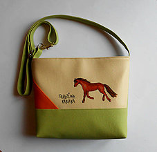 Kabelky - terezkina s koňom - 6618819_
