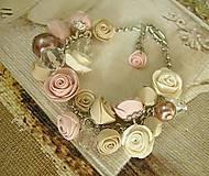 Náramky - Náramok Vintage Roses - 6620000_