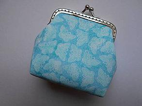 Peňaženky - Motýliková minipeňaženka - 6625647_