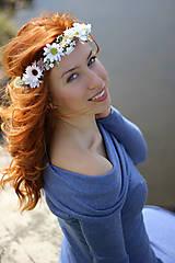 Ozdoby do vlasov - Venček *jar vo vlasoch* - 6622597_