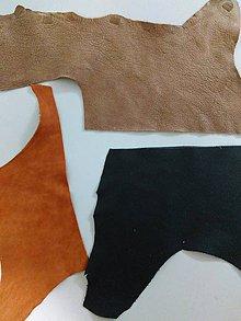 Suroviny - Odrezky kože - 6622999_