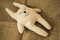 """- Látková hračka zajac """"Pán Králiček"""" - 6625053_"""