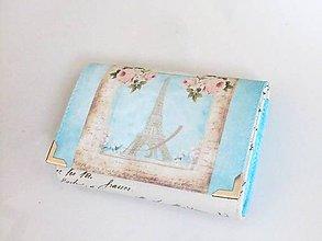 Peňaženky - V Paříži na jaře - malá na více karet - 6626061_