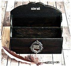 Krabičky - Krabička na poštu,listy,papiere - organizér - 6623462_