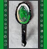Nábytok - Ručne kovaný a farbený vešiak - 6629275_